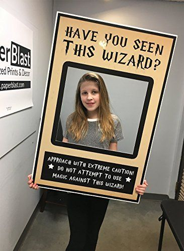 Have You Seen This Wizard Selfie Frame Social Media Frame