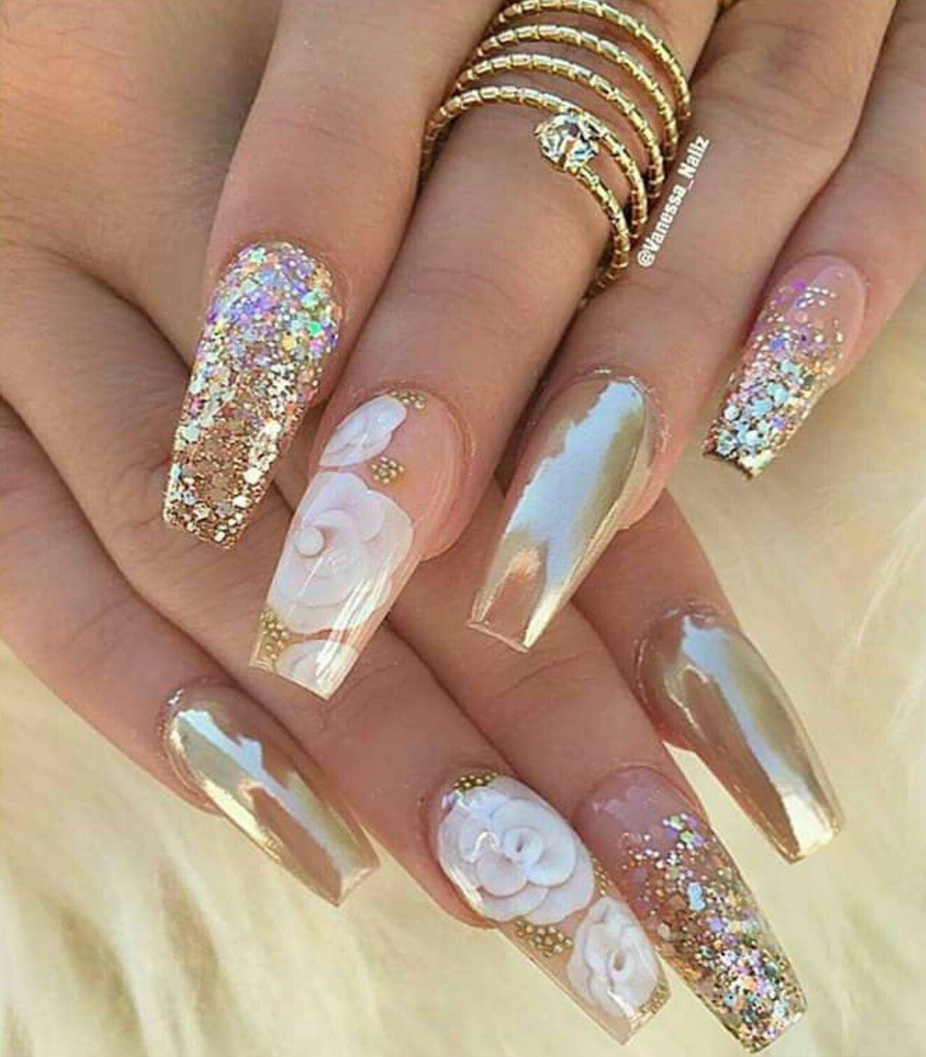 I Really Like These Nails Pinterest Uña Decoradas Uña