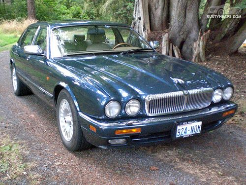 Wonderful 1996 Jaguar Vanden Plas.