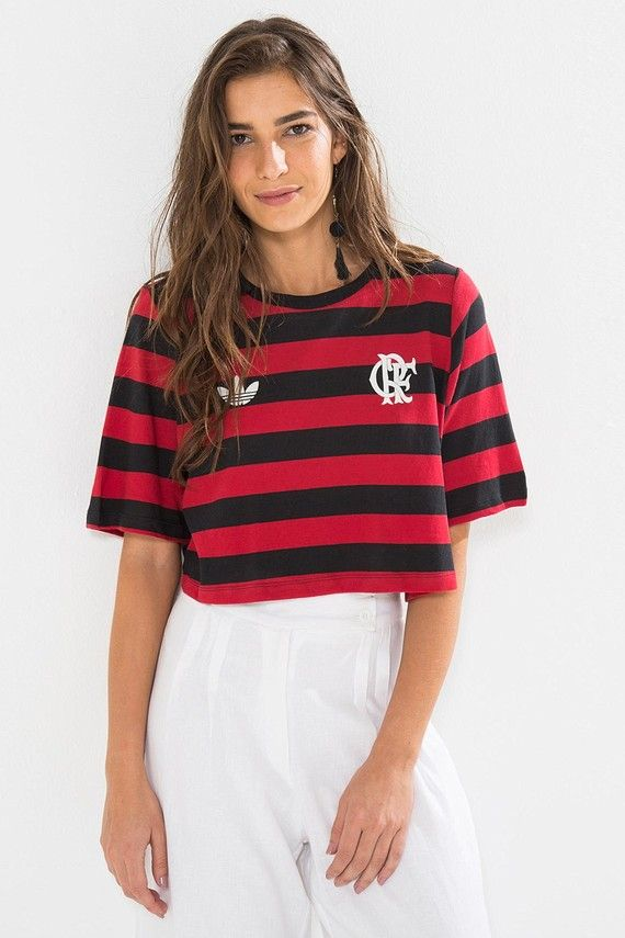 T-SHIRT CROPPED FLAMENGO  9acd54ac95667