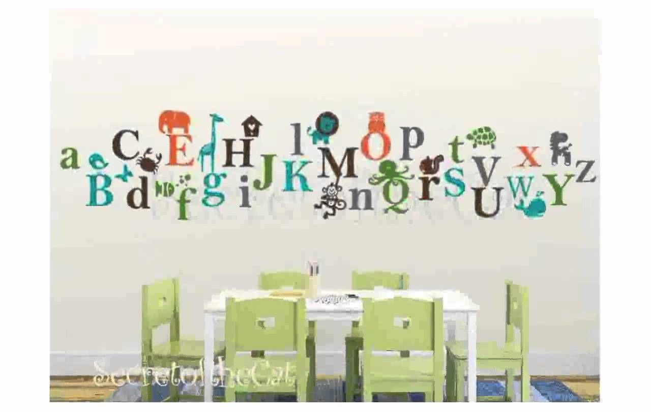 Alphabet Wall Decal Alphabet Wall Decals Nursery Decals