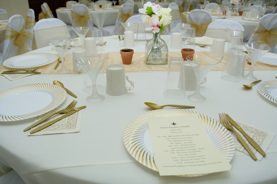 SxmProductions- Champagne & Gold Wedding theme | Chic Weddings Ideas ...