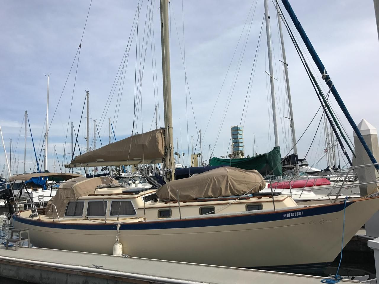 Used Sailboats For Sale >> 1979 35 Used Islander Freeport 36 Plan B Cruiser Sailboat For Sale