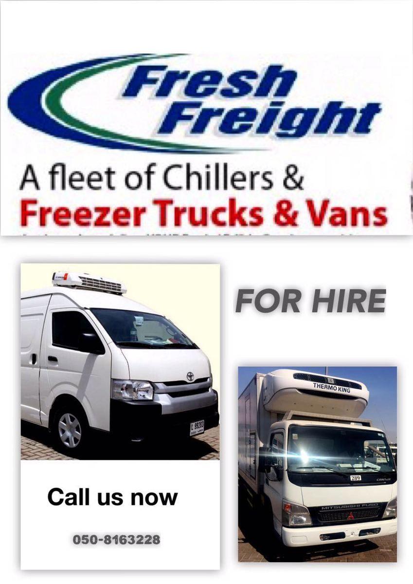 Refrigerated Truck, Chiller van, Freezer pickup,Reefer