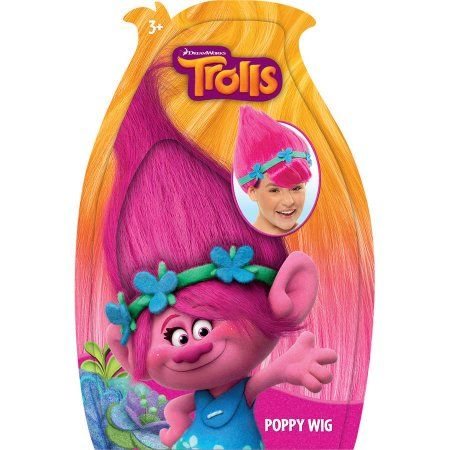Trolls Poppy Wig Pink Cakes 3rd Birthday Party