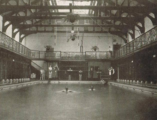 Swimming Emerged As A Competitive Sport In The 1830 S In England In 1828 The First Indoor Swimming P London Tourist London Tourist Attractions London History