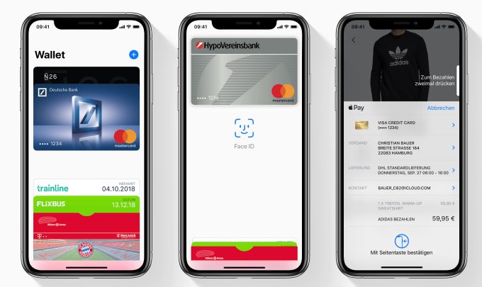 Apple Pay finally launches in Germany LifeLogTechnology