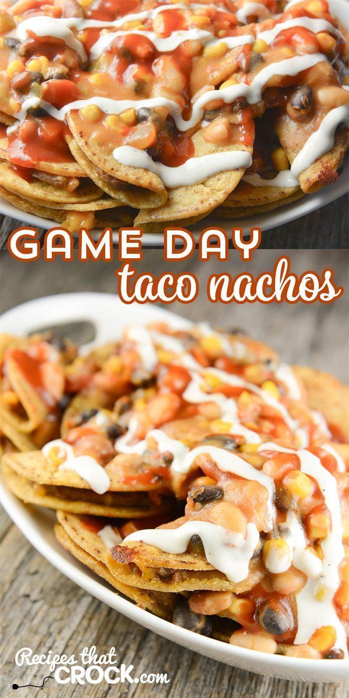 Check out these Crock Pot Game Day Taco Nachos! They are so easy to make and are such a crowd pleaser! #ad @joseolecentral #JustSayOle