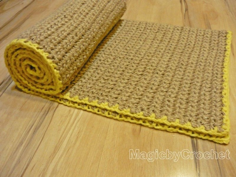 Reversible Rustic Jute Rope Rug 6 X 4 Ft Rectangular Carpet Handmade Natural