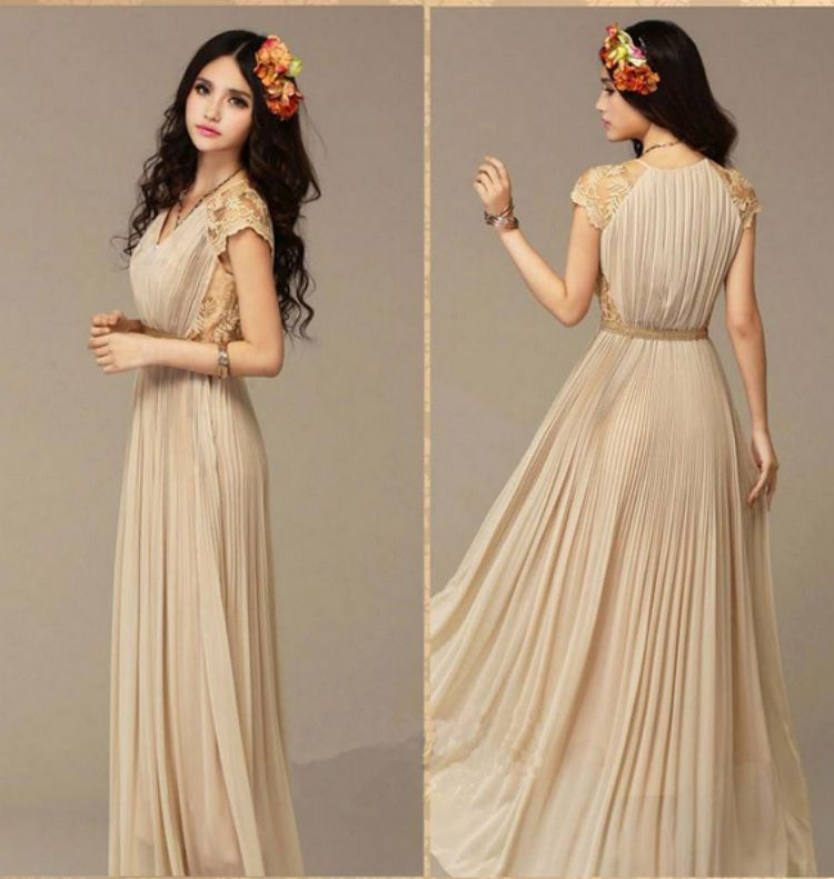 vintage long bridesmaids dresses | ... Long-dress-Ladies-Long ...