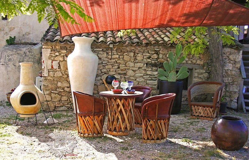 amadera, ambiance et décoration de jardin: Brasero mexicain ...