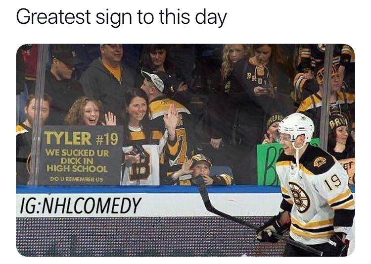 Hockey Memes Videos Nhlcomedy On Instagram Best Sign Funny Hockey Memes Funny Memes Funny