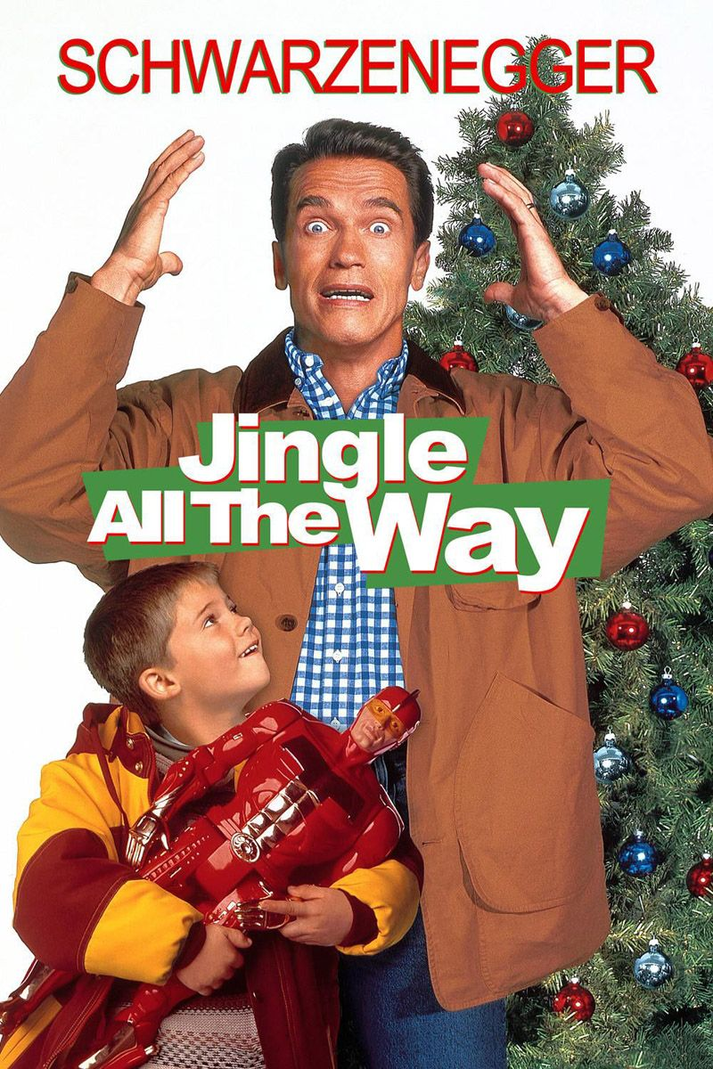 jingle all the way poster - Top 10 Best Christmas Movies