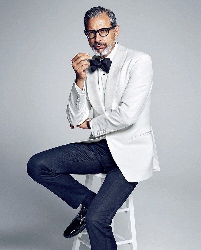 Jeff Goldblum | Tumblr | Gentleman style, Style, White tux