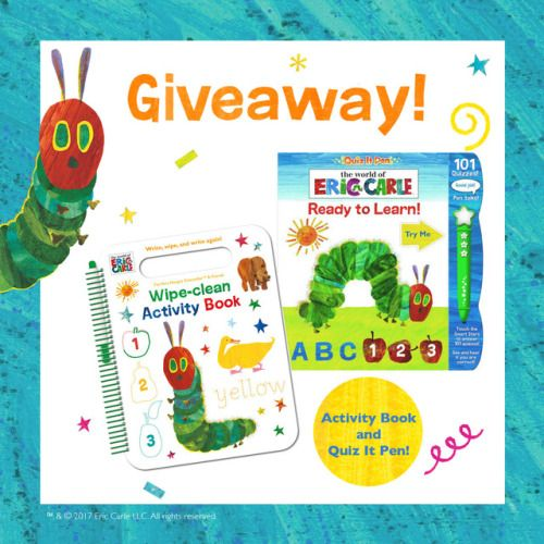 Win an Eric Carle Activity Book and Quiz It Pen {US} (7/27