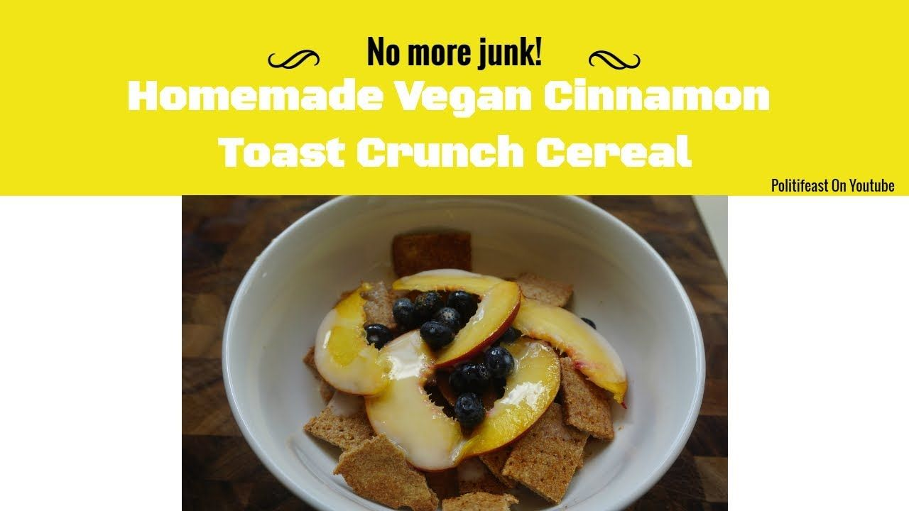 Homemade vegan cinnamon toast crunch continuing dr sebis legacy homemade vegan cinnamon toast crunch continuing dr sebis legacy ve forumfinder Image collections