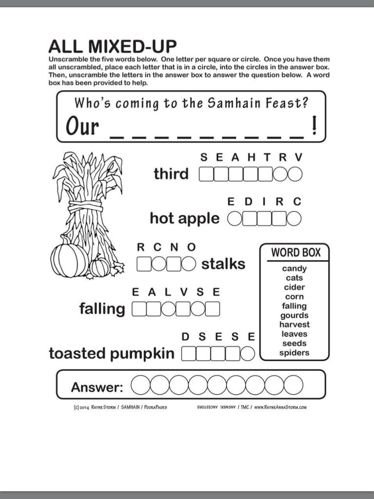 Samhain | Lettering, Coloring for kids, Coloring books
