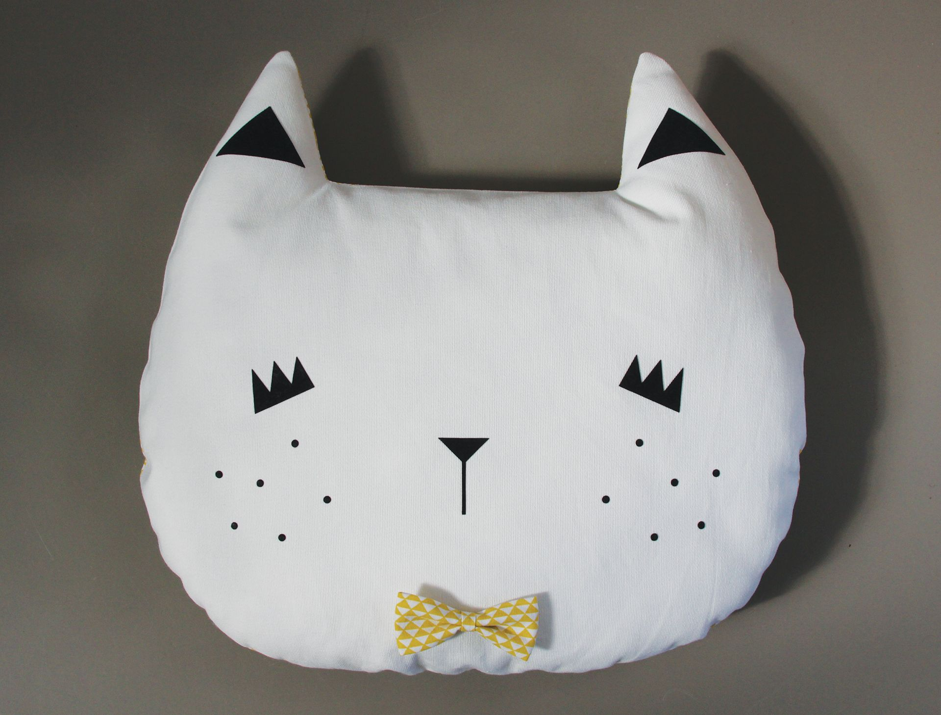 Coussin Chat Coussin Chat Tuto Couture Chat Et Oreiller Nuage