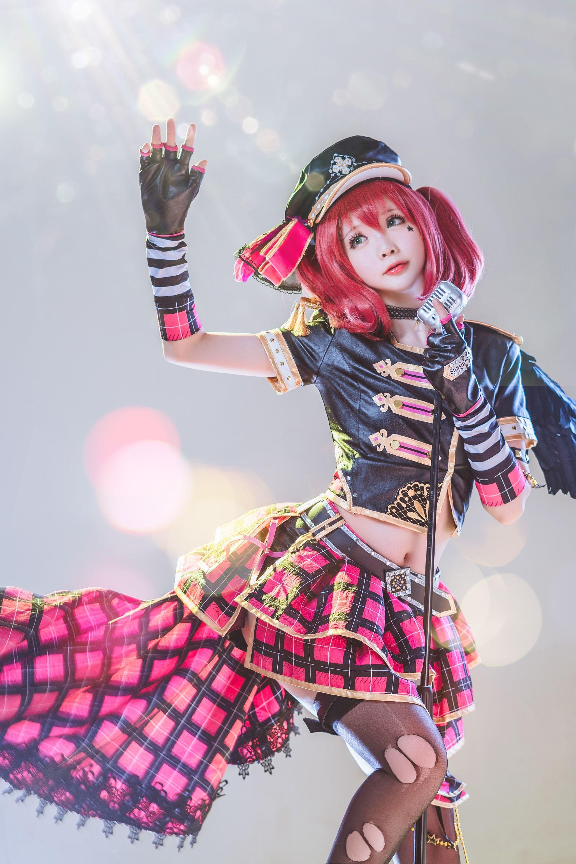 LoveLive Sunshine Sakurauchi Riko Punk Rock Cosplay