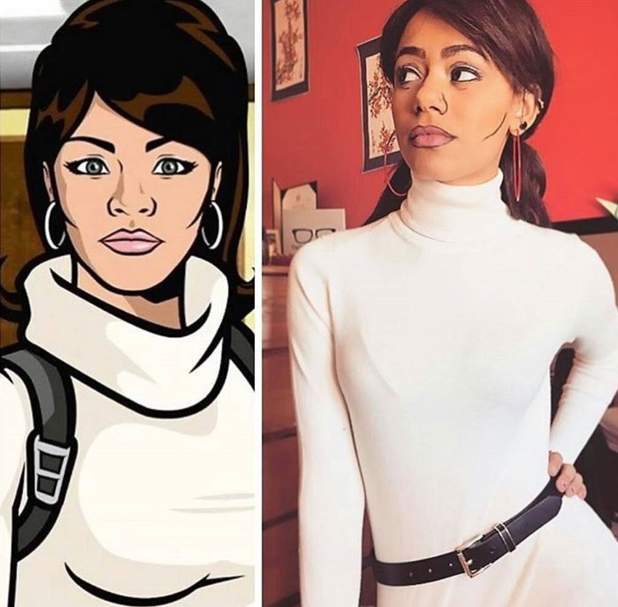 Costume Lana Kane from Archer Worn by Blackkrystal Check out more cosplay and Halloween · White TigersHalloween Costume IdeasArcherBlack WomenAfrican ...  sc 1 st  Pinterest & Costume: Lana Kane from Archer Worn by: Blackkrystal Check out more ...