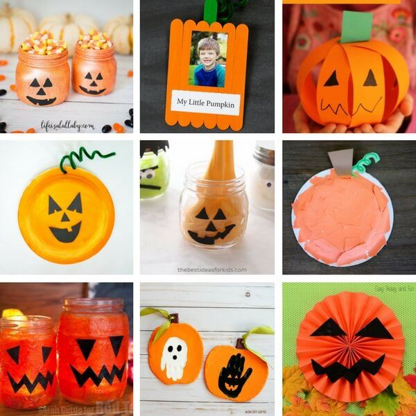 50+ Halloween Crafts for Kids Halloween kids, Craft and Halloween - halloween kids craft ideas