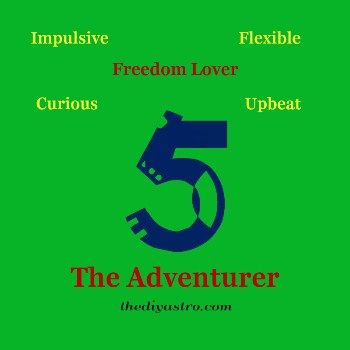 Free Numerology Reading - Life Path 5 at    thediyastro - numerology chart template