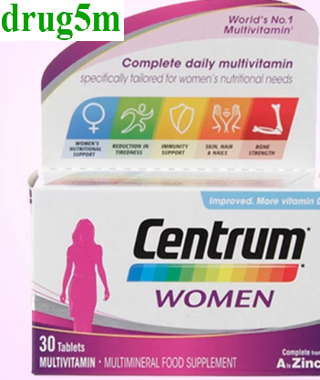 Centrum سنتروم Centrum Women Centrum Multivitamin
