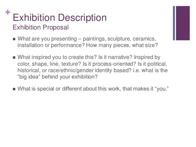 art exhibition description - Google Search Ministry Pinterest - art proposal template