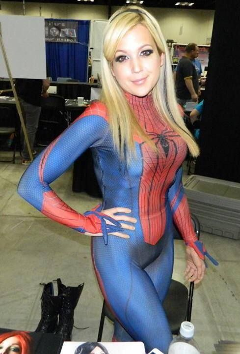 Cosplay spider girl sex