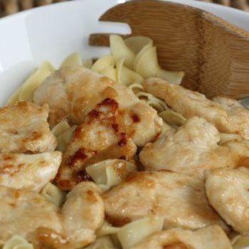 Lemon Butter Chicken with Noodles Recipe - ZipList