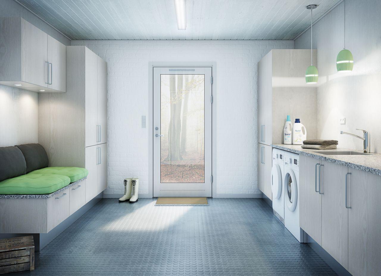 Inredning tvättstuga inspiration : tvättstuga inredning - Sök pÃ¥ Google | Laundry room | Pinterest ...