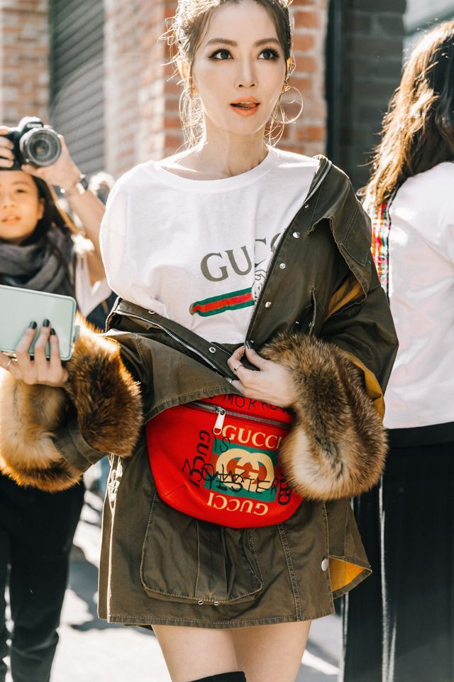 507c722fc02a gucci fanny packs How To Wear Belts, Fashion Bags, Fashion Outfits, Gucci  Fashion. Read it