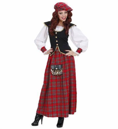 Skotsk dame drakt kostyme