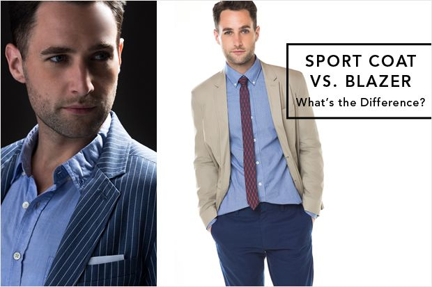Sport Coats vs. Blazers: Know the Difference | Sport coat, Blazers ...