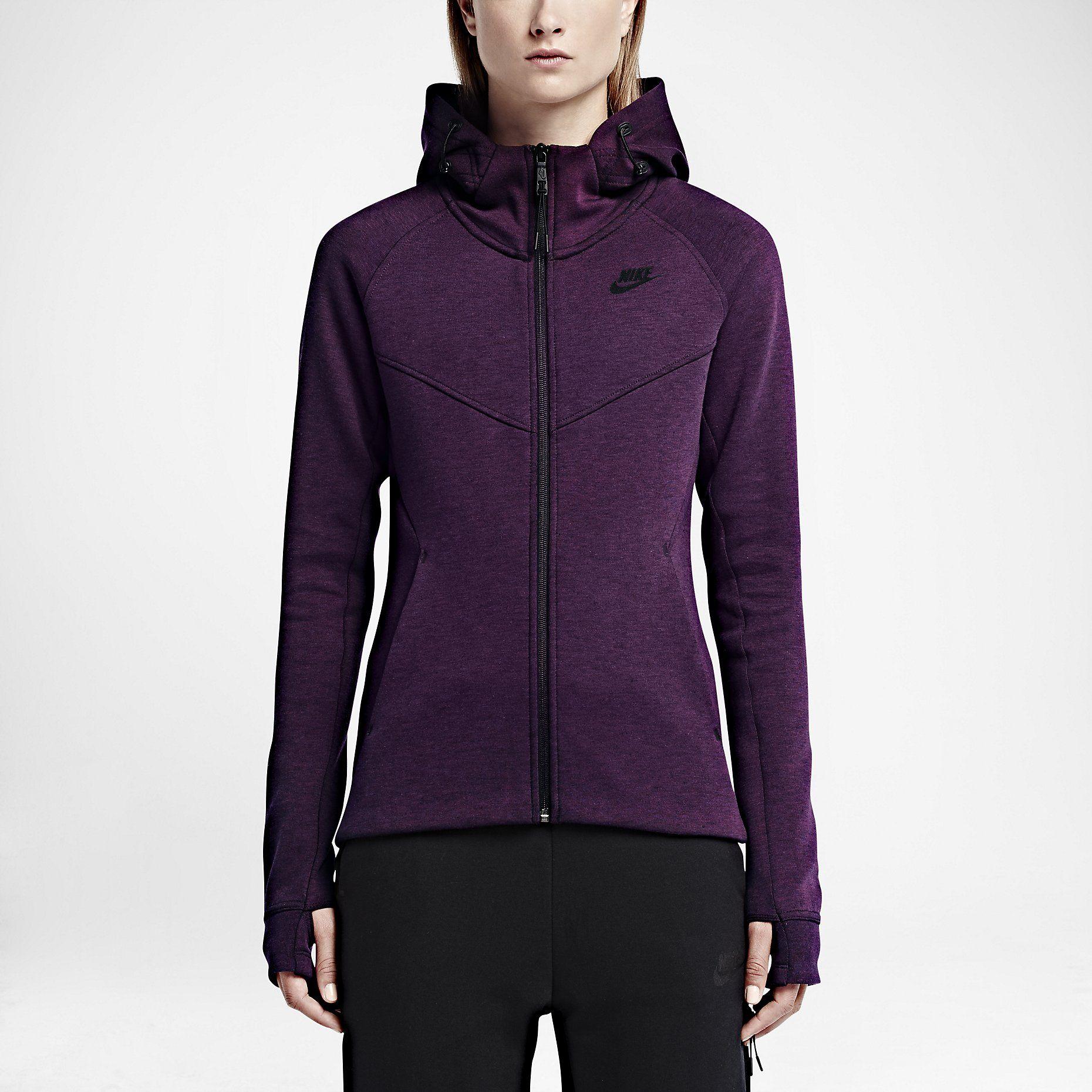 Nike Tech Fleece Windrunner FullZip Women's Jacket. Nike