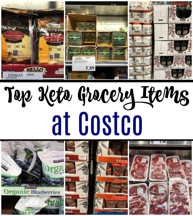 Top Keto Grocery Items at Costco Keto shopping list