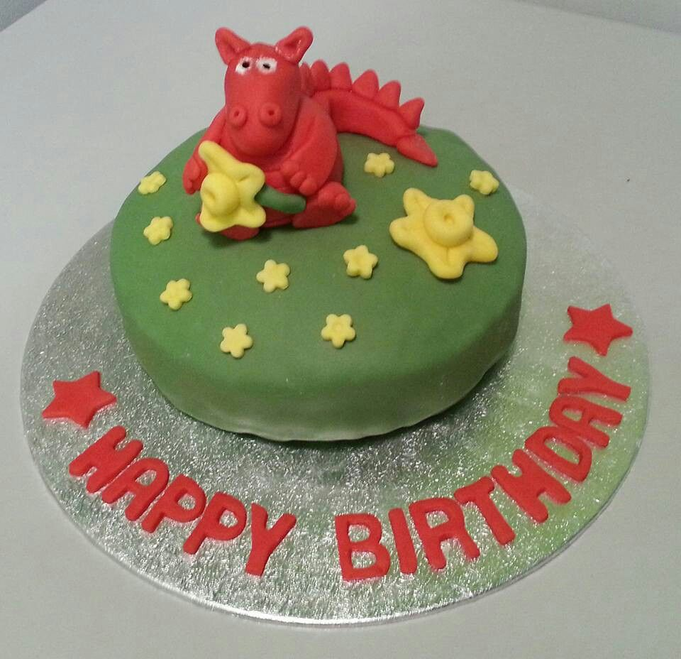 Awe Inspiring Welsh Dragon Birthday Cake With Images Dragon Birthday Cakes Funny Birthday Cards Online Alyptdamsfinfo