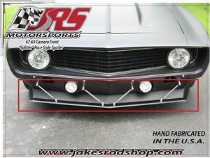 67-69 camaro front spoiler pro touring race