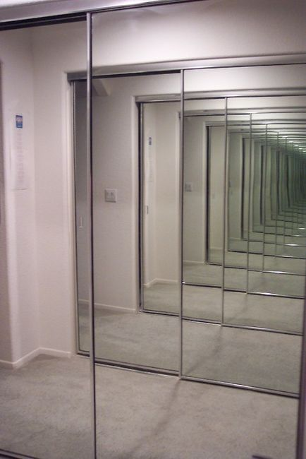 this is what infinity looks like endless reflection of glass