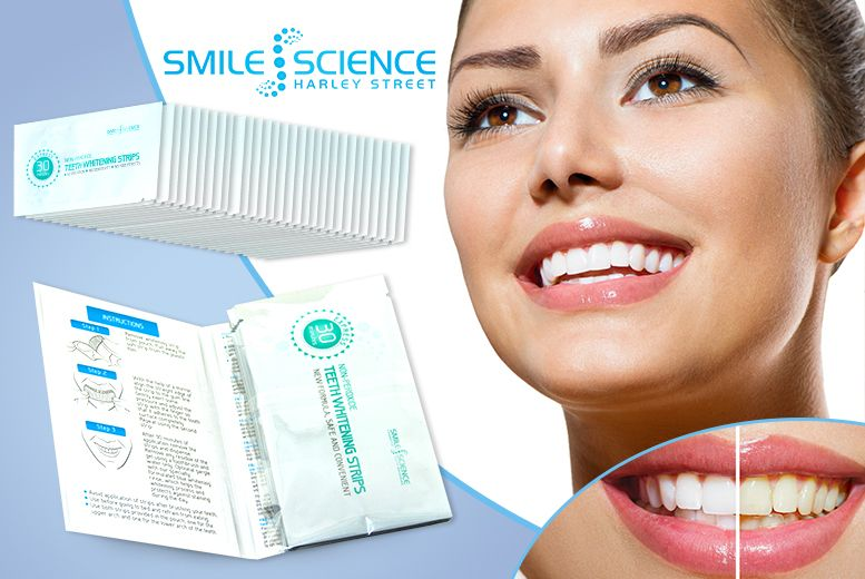 I just bought 28 Teeth Whitening Strips (now £9) via @wowcher