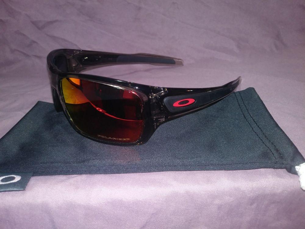 166d229100c Oakley Turbine Black Jade Iridium RX Polarized Sunglasses Oo9263 10 63   fashion  clothing  shoes  accessories  mensaccessories ...