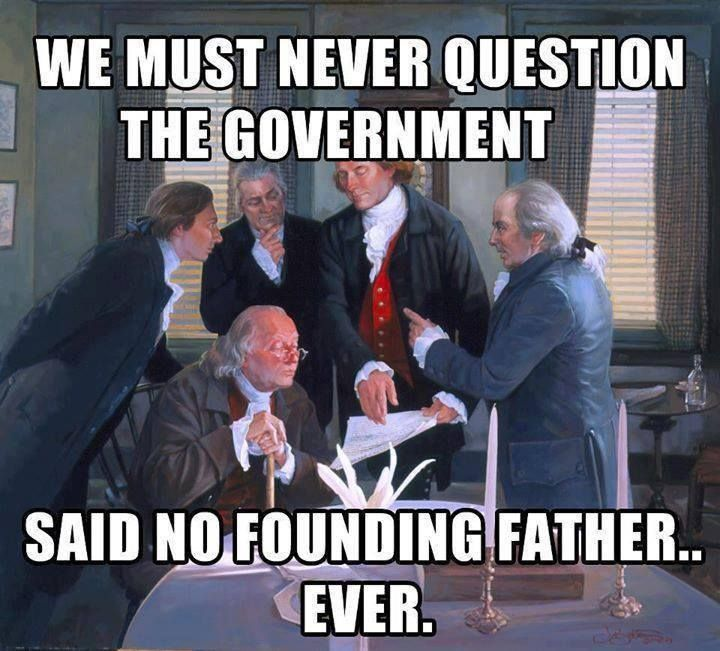 Image result for Said NO Founding Father ever