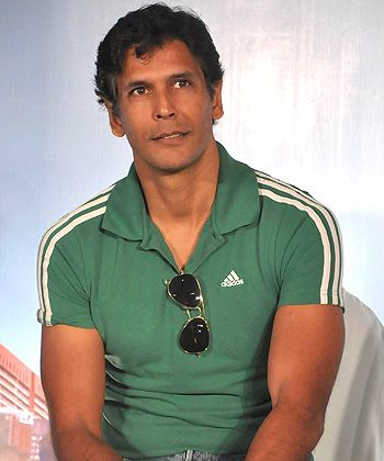 milind soman height weight