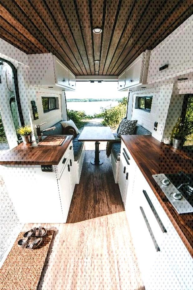 30 Wonderful Rv Camper Van Interior Decorating Ideas