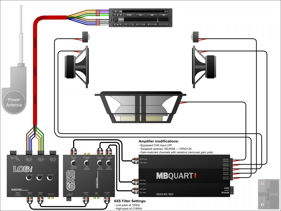 12+ Car Audio Sub And Amp Wiring Diagram - Car Diagram - Wiringg.net in  2020   Car audio capacitor, Car stereo installation, Car audio systemsPinterest