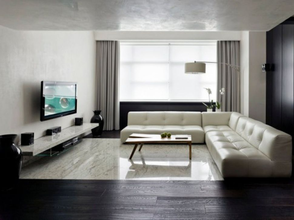 InteriorExcellent Scandinavian Interior Design Living Room Ideas With White Sofas And Table Also Wood
