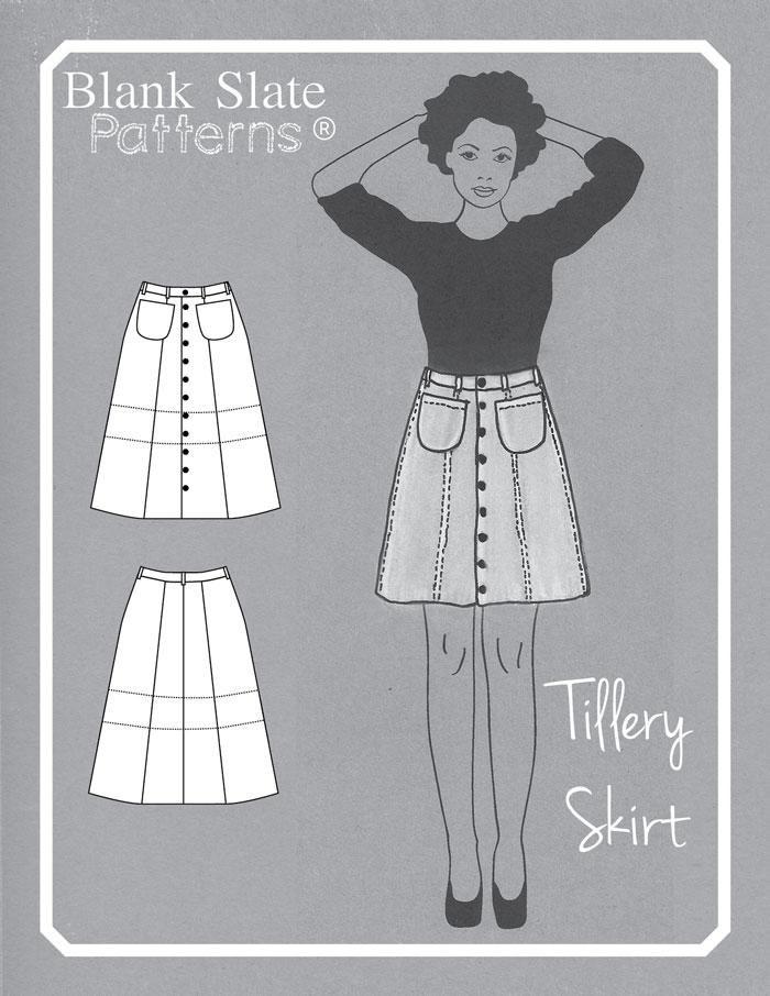 Tillery Skirt Sewspiration Pinterest Sewing Patterns Metric