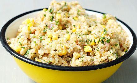 Quinoa, Sweet Corn, Lime & Jalapeño Salad