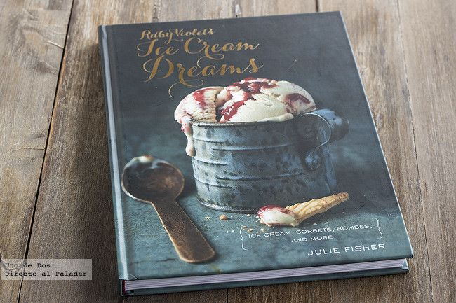 Ruby violets ice cream dreams de julie fisher el libro de recetas de helados para so ar i - Libro cocina japonesa ...