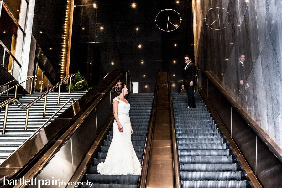 Loews Hotel Philadelphia Wedding Portraits Bride Groom